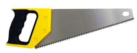 "12"" Full Polish Hardened Hand Saw"