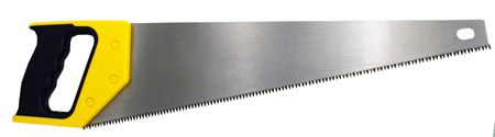 "18"" Full Polish Hardened Hand Saw"