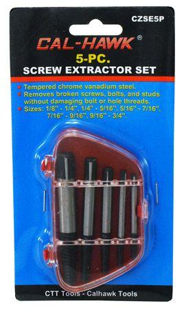 5-pc. Screw Extractor Set
