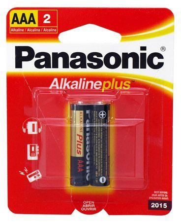 2-pc. AAA Alkaline Batteries