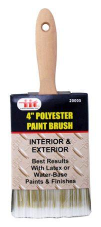 "4"" Polyester Paint Brush"