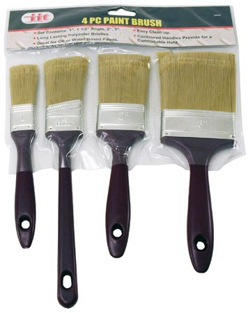 4-pc. Paint Brush Set