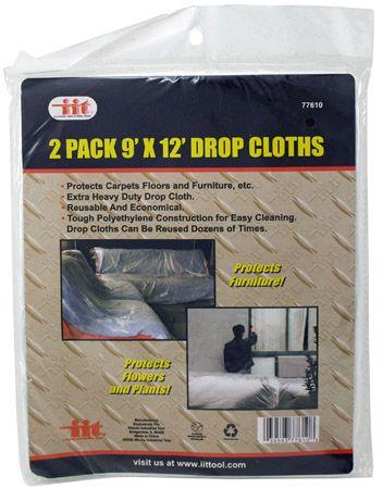2-pc. 9' x 12' Drop Cloths