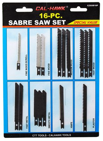 16-pc. Sabre Saw Set