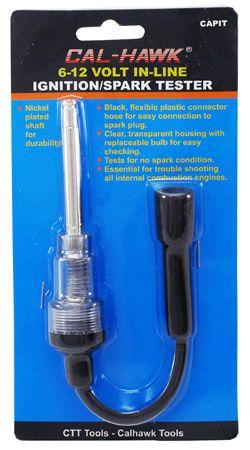 6-12 Volt In-Line Ignition Spark Tester