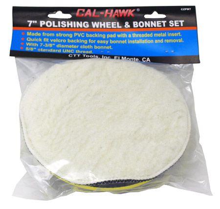 """7"""" Polishing Wheel and Bonnet Set"""
