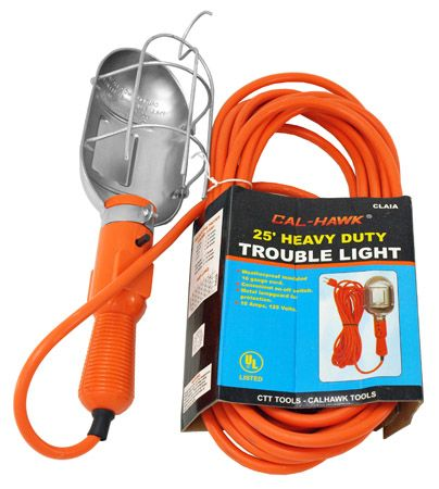 25' Heavy Duty Trouble Light