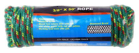 "3/8"" x 50' Rope"