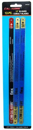 "12-pc. 12"" Bi-Hard Cobalt Blades"