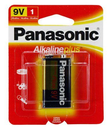 1-pc. 9V Alkaline Battery