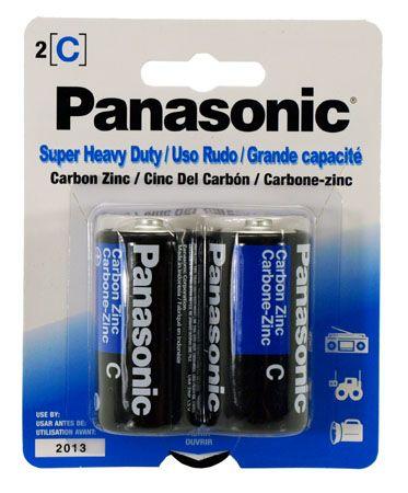 2-pc. C Super Heavy Duty Batteries