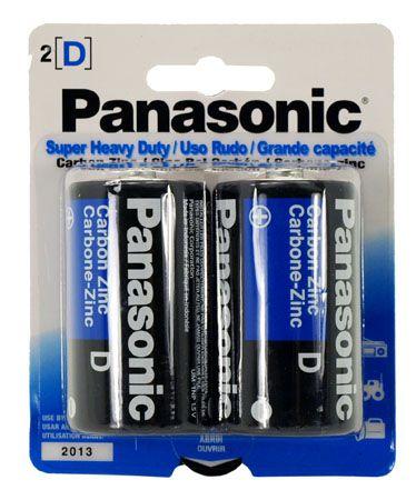 2-pc. D Super Heavy Duty Batteries