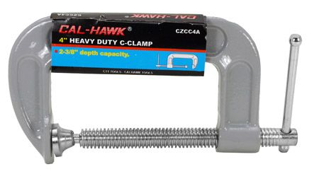 "4"" Heavy Duty C-Clamp"