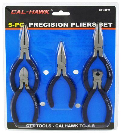 5-pc. Precision Pliers Set