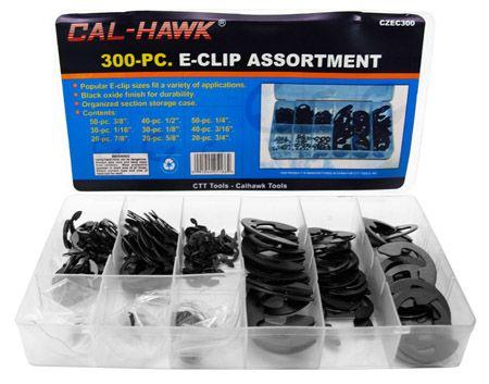 300-pc. E-Clip Assortment