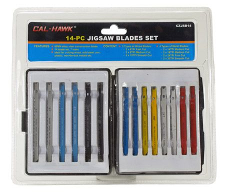 14-pc. Jigsaw Blade Set