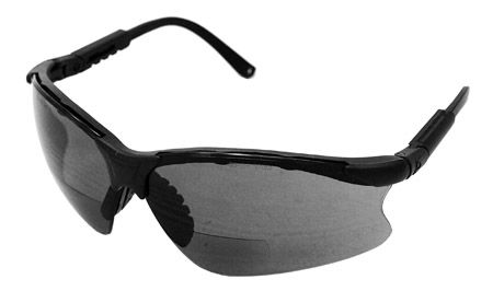 Bifocal Safety Glasses - Smoke