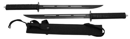 "16"" Twin Tactical Blades"