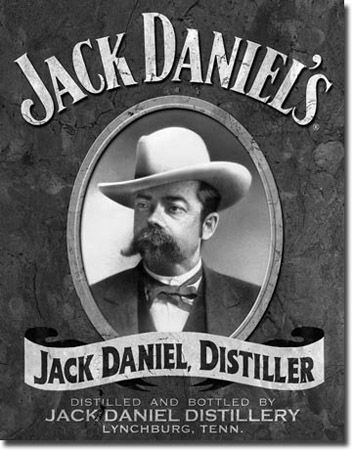 Jack Daniels Portrait Tin Sign