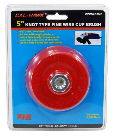 "5"" Knot-Type Fine Wire Cup Brush"