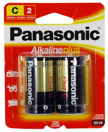2-pc. C Alkaline Batteries
