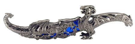 "12"" Dragon Knife - Blue"