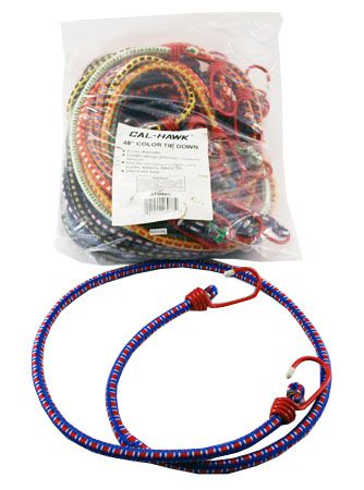 """20-pc. 48"""" Color Bungee Tie Down"""