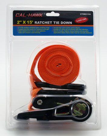 """15' x 2"""" Ratchet Tie Down"""