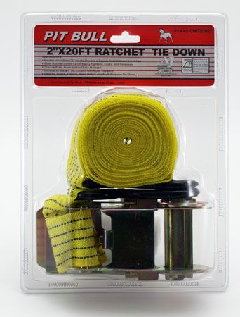 "20' x 2"" Ratchet Tie Down"