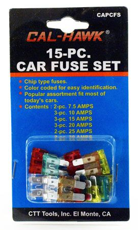 15-pc. Car Fuse Set