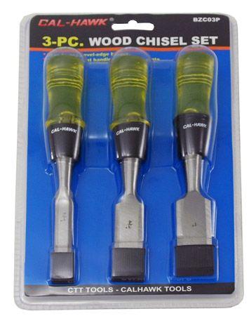 3-pc. Wood Chisel Set