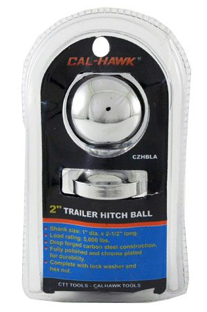 "2"" x 1"" Trailer Hitch Ball"