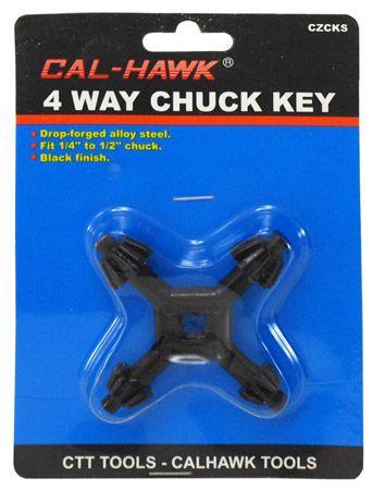 4-Way Chuck Key