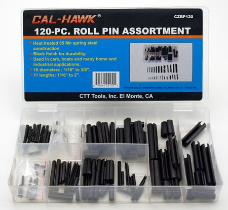 120-pc. Roll Pin Assortment