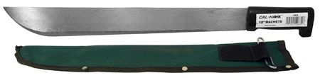 "18"" Machete w/Sheath"