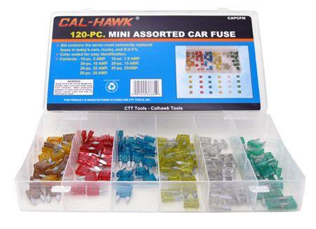 120-pc. Mini Assorted Car Fuse