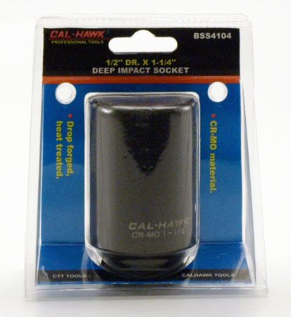 "1/2"" Drive x 1-1/4"" Deep Impact Socket"
