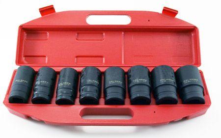 "8-pc. 3/4"" Drive Deep Impact SAE Socket Set"