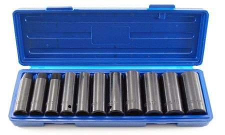 "12-pc. 1/2"" Drive Deep Impact SAE Socket Set"
