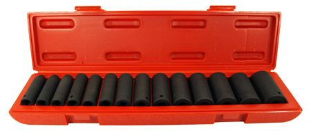 "15-pc. 1/2"" Deep Impact Socket Set - SAE"