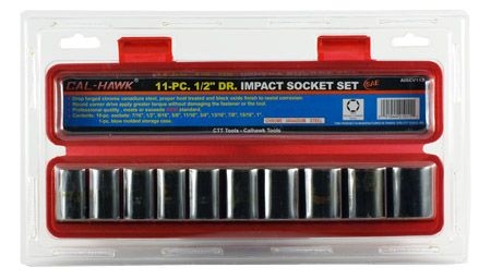 "11-pc. 1/2"" Drive Impact SAE Socket Set"