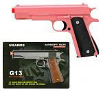 UKArms G13 Spring Powered Airsoft Handgun - Pink