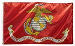 3' x 5' United States Marine Corps Flag
