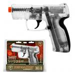 Red Jacket Airsoft Battle Pistol - Clear