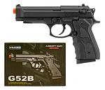 UKArms Airsoft Handgun G52B - Black