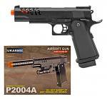 UKArms Airsoft Handgun P2004A - Black