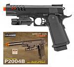 UKArms Airsoft Handgun P2004B - Black
