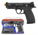 Semi-Auto Smith & Wesson M&P40 Airsoft Pistol