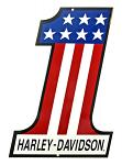 Harley Davidson USA #1 Tin Sign