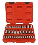 Cal-Hawk 38 - pc. Star Bit and Star Socket Set